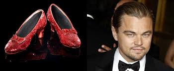 "The fabled red heels called Ruby Slippers from classic film ""The Wizard of Oz"" will soon find their home at the Academy of Motion Picture Arts and Sciences ... - wizard-of-oz-iconic-ruby-slippers-bought-by-leonardo-dicaprio-for-academy-museum"