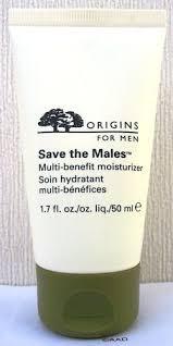 <b>Origins for Men Save</b> the Males Multi-Benefit Moisturizer, 1.7 Oz ...