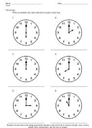 Time Theme Worksheet Sample