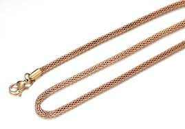 IP Gold <b>Stainless Steel</b> Gold Network Chain with <b>Lobster Buckle</b>