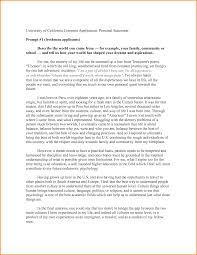 How to write a personal statement examples for university   www