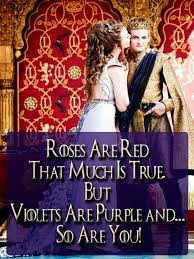 GameOfThrones Roses Are Red, You Are Purple, Wedding Meme | Game ... via Relatably.com