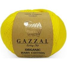 <b>Пряжа Gazzal Organic</b> Baby Cotton - купить пряжу Органик Бэби ...