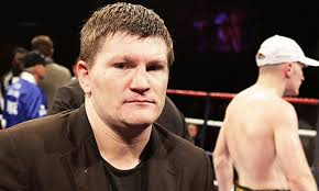 Ricky Hatton in Stoke last week, after his brother Matthew's IBO welterweight title fight with Lovemore N'Dou was declared a draw. - ricky-hatton-001