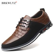 <b>men</b> Leather Shoes Fashion Classic Doug <b>Men</b> Shoes slip on ...