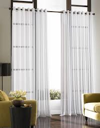 living room picture window treatments