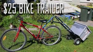 How to build a <b>bike trailer</b> using a $25 <b>hand</b> trolley - YouTube