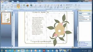 how to create a flyer in ms word mp4
