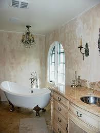 small bathroom chandelier crystal ideas:  plain design small chandeliers for bathroom tasty exquisite bathroom interior decoration with painting clawfoot tub