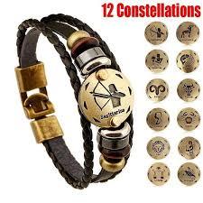 <b>Hot</b> 12 Constellation <b>Fashion Personality</b> Bracelet <b>Accessories</b> ...