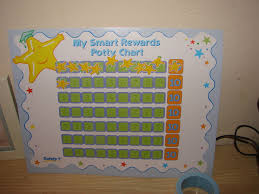potty training three ladies and their babies jude s reward chart every time he used the potty he got to put a