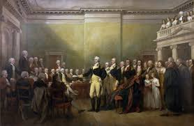 the greatest moment in american history journal of the american the greatest moment in american history by thomas fleming middot gen george washington resigning his commission by john trumbull source architect of the
