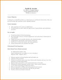 dental assistant resume objective com dental assistant resume objective and get inspiration to create a good resume 19