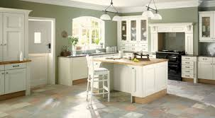 painted kitchen cabinets vintage cream: image of contemporary cream shaker style kitchen cabinets