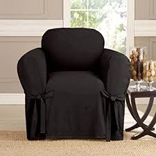 Buy <b>Microsuede Furniture Slipcover</b> Chair 70 x 90 - Black Online at ...