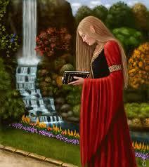 Resultado de imagem para mulher guerreira celta gif