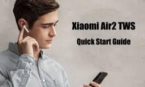 <b>Xiaomi Air2</b> (Mi Airdots Pro 2) TWS User Instruction: How to Use Air2 ...