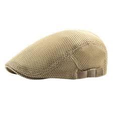 <b>Summer Men's</b> Boys <b>Breathable mesh</b> Beret Newsboy hats Ivy Cap ...