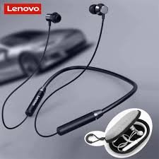 Lenovo <b>HE05 Bluetooth</b> 5.0 Neckband <b>Earphone</b> Wireless Stereo ...