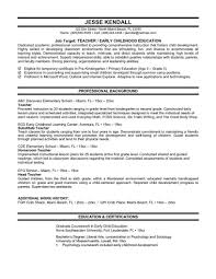 resume templates for educators  socialsci coresume