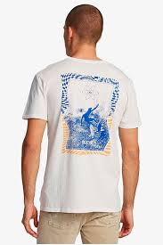 Мужская <b>футболка Quiksilver</b> Into <b>Waves</b>