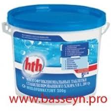 <b>HTH Многофункциональные таблетки</b> стабилизированного ...