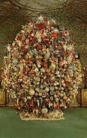 Image result for free victorian christmas tree image