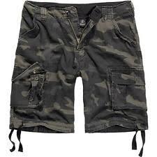 Камуфляж, 100% хлопок, большие, для высоких <b>шорты</b> для мужчин