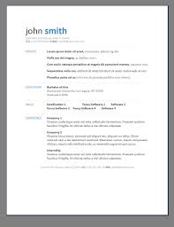resume template simple job samples a format outline in  87 appealing simple resume template word