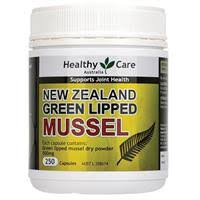 Buy Healthy Care <b>New Zealand Green Lipped</b> Mussel 250 Capsules ...