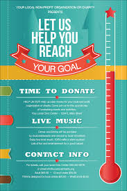 thermometer poster fundraising thermometer poster