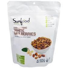Отзывы Sunfood, Сырые <b>Органические</b> Белые Тутовые <b>Ягоды</b>, 8 ...