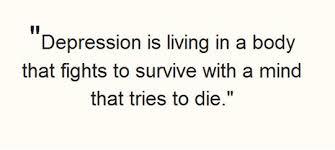 Quotes About Fighting Depression. QuotesGram via Relatably.com