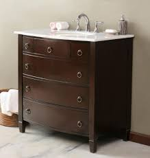 bathroom modern vanity designs double curvy set: wall  wall mounted square six drawers wooden dark brown and white countertop vanity porcelain cabinet with white round porcelain undermount single sink and silver curved center set faucet interior bathroom