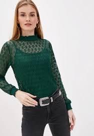 Женские кружевные <b>блузы</b> — купить в интернет-магазине Ламода