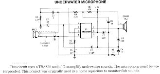 microphone circuits page 4 underwater microphone schematic