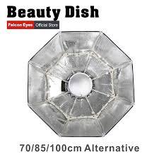 <b>Falcon Eyes</b> Foldable Beauty Dish <b>Softbox</b> 70cm <b>85cm</b> 100cm radar ...