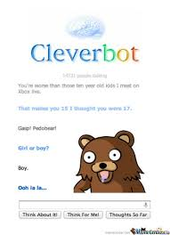 Cleverbot Conversation Funny P Memes. Best Collection of Funny ... via Relatably.com