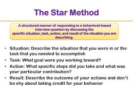 Behavioral Interview & Competency Framework ... 19. The Star Method ...