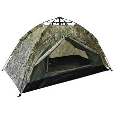 Kombat <b>Automatic</b> 2-Person <b>Double Skin Tent</b> BTP Camo ...