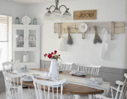 dining room table chairs white country  interesting traditional country style kitchen design with white count