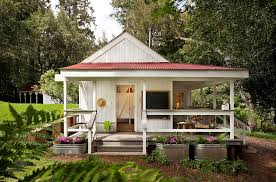 Farmhouse Style Interiors  Ideas  InspirationsView in gallery Small porch idea for the farmhouse style home How To Bring Home The Farmhouse Style With