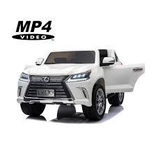 <b>Электромобиль Lexus LX570</b> 4WD MP4 - DK-LX570-WHITE-MP4 ...