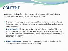 four key aspects that will help form the basis of an essay content