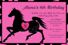 printable horse birthday invitations printable horse themed printable horse birthday invitations