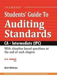 student s guide to auditing standards ca intermediate ipc facebook