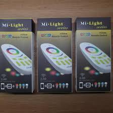 Пульт управления <b>Mi</b>-Light rgbw 2.4G 4-Zone – купить в Москве ...