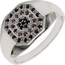 Мужская серебряная печатка перстень <b>Русское Золото 55120178</b> ...