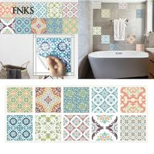 SP 20 x 20CM <b>Colored Waterproof</b> Wall Tile <b>Sticker Kitchen</b> ...