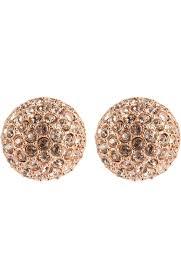Женские золотые <b>серьги</b> с кристаллами <b>swarovski</b> OSCAR DE LA ...
